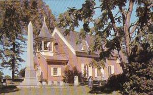 Christ Church Was Rebuilt In 1734 On The Site Designated Dover Delaware
