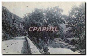 Old Postcard Vallee Du Cousin Sous Roche