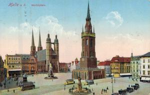 Germany Halle a. S. Marktplatz 02.31