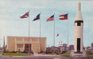 Portsmouth Naval Shipyard Museum, Fountain, PORTSMOUTH, Virginia, 40-60's