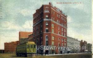 Mann Building Utica NY 1911