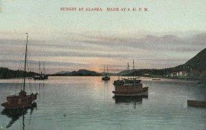 SITKA , Alaska , 1900-10s ; Sunset at 9.45 P.M.
