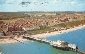 B101485 cromer from the air   uk 14x9cm