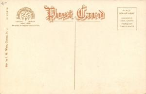 Roosevelt New Jersey~Public School No 1~Church & Barns~Dirt Road~1920s Postcard