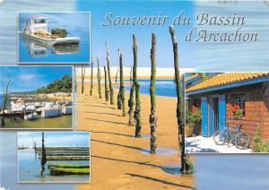 B51016 Le bassin d'Arcachon boats bateaux multi vues  france