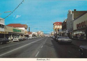Main Street , kAMLOOPS , B.C. , Canada , 60-70s