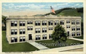 Towanda High School Towanda PA Unused
