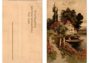 CPA Dein Heim Dein Gluck Meissner & Buch Litho Serie 1251 (730829)
