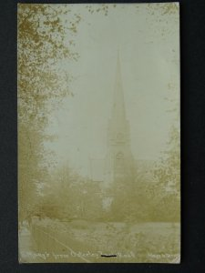 Hounslow ISLEWORTH Osterley Road St Mary's Church c1908 RP Postcard by Kaye's