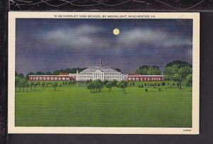 Handley High School,Winchester,VA Postcard