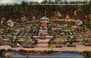 North Carolina Durham Sarah P Duke Memorial Gardens Duke University 1943 Curt...