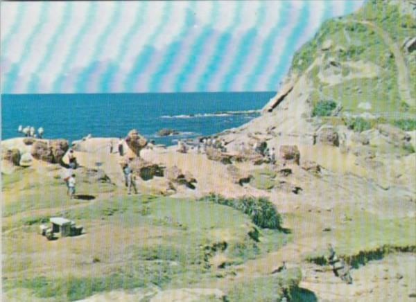 Taiwan Yehliu Rocks In Northern Taiwan