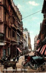 Mexico Argentina Buenos Aires Calle Florida