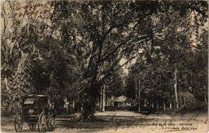 CPA AK VIETNAM - Saigon - Un coin du Jardin de la Ville (85059)