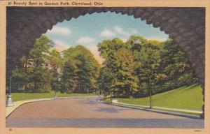 Ohio Cleveland Beauty Spot In Gordon Park 1948