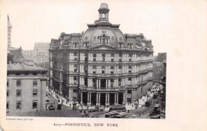 NEW YORK CITY NY~POST OFFICE~BLANCHARD PRESS POSTCARD 1900s
