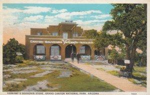 GRAND CANYON Nat. Park, Arizona; 1929; Verkamp's Souvenir Store