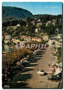 Modern Postcard Ascona Lago Maggiore Piazza