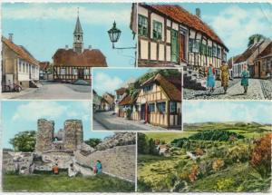Ebeltoft og Mols, Denmark, 1965 used Postcard