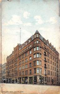 C12/ Duluth Minnesota Mn Postcard 1907 Spalding Hotel Building