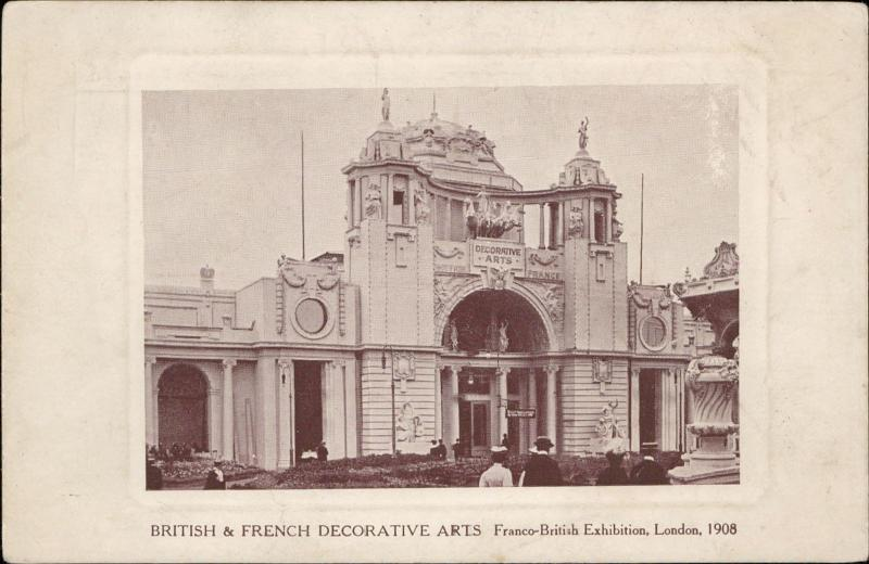 British & French Decorative Arts Franco - British Exhibition 1908 London