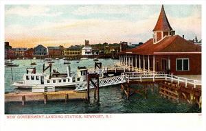 13146  RI  Newport  Goverment Landing Station