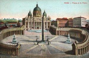 Piazza di S Pietro,Rome,Iatly