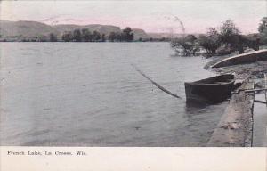 Row Boat, French Lake, La Crosse, Wisconsin, PU-1908
