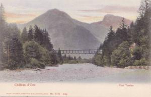 Pont Turrian, Chateau d'Oex, Vaud, Switzerland, 00-10s