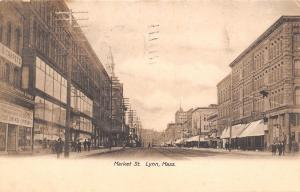 Lynn MA~Market Street~Furniture & Carpets Going Out of Business~Clothier~1909 PC