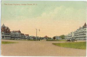 D/B The Ocean Pathway Ocean Grove New Jersey NJ 1913?