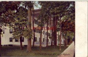 pre-1907 RICHFIELD SPRINGS, N. Y. HOTEL MAJESTIC