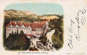 Hotel Raphael, San Raphael, California, Very Early Postcard, Unused