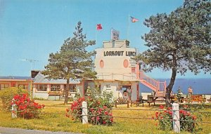 LP53  Henderson Harbor  New York Postcard Lookout Tower