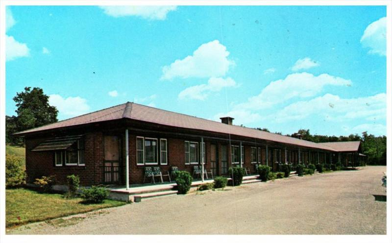 14505 Ny Howes Cave 1960 S Howe Caverns Motel