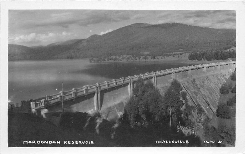 Healesville Victoria Australia 1945 RPPC Photo Postcard 10770