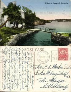 bermuda, NORWOOD, Small Bridge (1931) Stamp