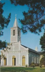 Exterior,  St. Martinville Church,  St. Martinville,  Louisiana,  40-60s