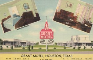 HOUSTON , Texas, 30-40s ; Grant Motel
