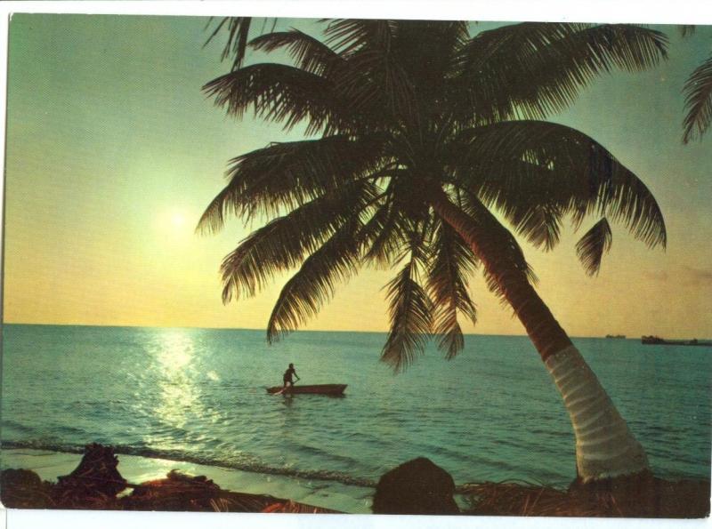 Puerto Cortez, Costa Norte de Honduras, unused Postcard