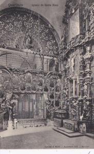 Mexico Queretaro Iglesia de Santa Rosa