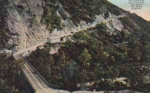 CALIFORNIA, 1900-1910s; The Climb From Eaton's Canyon, Auto Road To Mt. Wilson