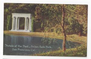CA San Francisco Golden Gate Park Portals of the Past Vntg PNC Postcard S.F. 90