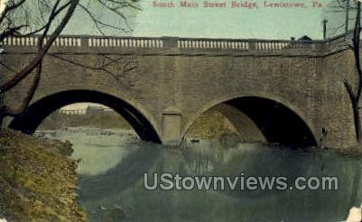 South Main Street Bridge Lewistown PA Unused