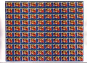 Full Sheet, 100 Christmas Seals, 1948
