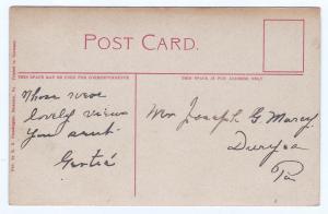 1907-1915 Scranton PA Oral School for the Deaf Duryea RARE Divided Back Postcard