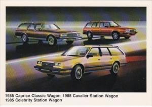 1985 Chevrolet Caprice Classic Wagon Caprice Station Wagon & Celebbrity S...