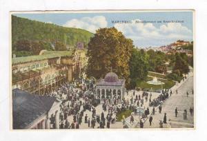 Abendkonzert am Kreuzbrunnen, Marienbad, Czech Republic, 1900-1910s