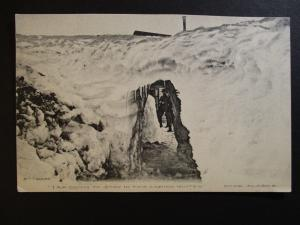 Early 1900s I Am Going To Stay In This Coming Winter Nome Alaska RPPC Postcard