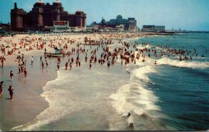 New Jersey Atlantic City Surf Bathing and Ocean Front